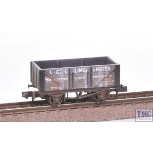 NR-P114 Peco N Gauge Lime Wagon ICI with Extra Detail Weathering by TMC