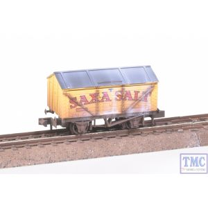 NR-P120 Peco N Gauge Salt Saxa Yellow Weathered by TMC