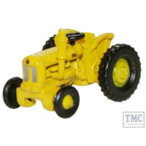 NTRAC003 Oxford Diecast 1:148 Scale Fordson Tractor Yellow Highways Dept