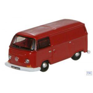 NVW005 Oxford Diecast 1:148 Scale Senegal Red VW Van