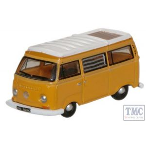 NVW008 Oxford Diecast 1:148 Scale Marino Yellow  White VW Camper