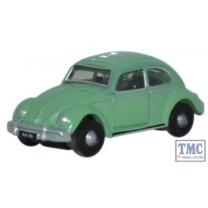 NVWB003 Oxford Diecast VW Beetle Turquoise 1/148 Scale N Gauge (Discontinued)