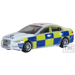NXF008 Oxford Diecast 1:76 Scale Police Jaguar XF
