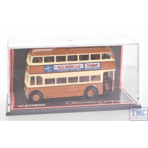 Original Omnibus OM41904 SD of Co.Durham Leyland PD3 Queen Mary 1960's d/deck bus OK Motor Services