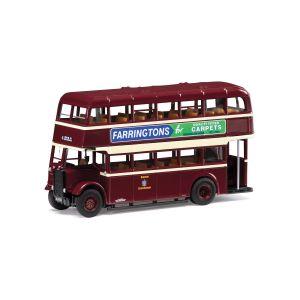 OM43917B Corgi 1:76 Scale Guy Utility Bus- Burton Corporation- 6 Calais Rd via Station & Belvedere Road