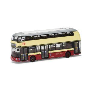 OM46619B Corgi 1:76 Scale New Routemaster- Go Ahead London- 88 Clapham Common