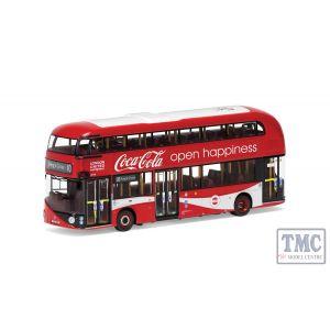 OM46623 Corgi 1:76 Scale New Routemaster - London United - LTZ 1148 - Route 10 - Kings Cross - Coca Cola®