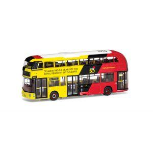 OM46627B Corgi 1:76 Scale Wrightbus New Routemaster GoAhead London LTZ 1394 Route 15 Stepney Arbour Square Royal Fusilliers