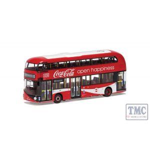 OM46629 Corgi 1:76 Scale Wrightbus New Routemaster London United LTZ 1148 Route 10 Hammersmith Coca Cola