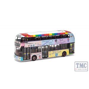 OM46632B Corgi 1:76 Scale Wrightbus New Routemaster Arriva London LTZ 1230 Route 38 Victoria Sehba Basras Our Hillingdon