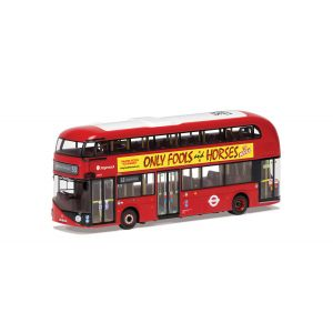 OM46633B Corgi 1:76 Scale Wrightbus New Routemaster Only Fools and Horses Stage Show Route B Route 73 Stoke Newington
