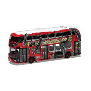 OM46638B Corgi 1:76 Scale Wrightbus New Routemaster'release the Kraken'- Special Edition Route B