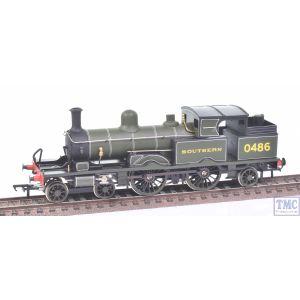 OO Works OO Gauge Adams Radial 4-4-2T no.0486 SR Lined Green (Hand Made)(Never Run)(Pre-owned)