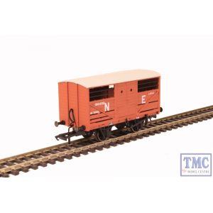 OR76CAT003 Oxford Rail 1:76 Scale Cattle Wagon LNER 196488