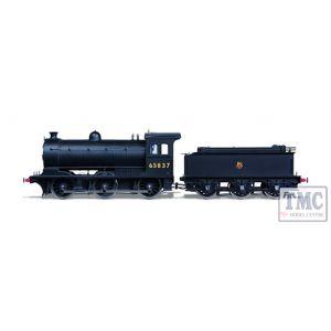 OR76J27002XS Oxford Rail OO Gauge J27 Steam Locomotive BR Early 65837 (DCC-Sound)