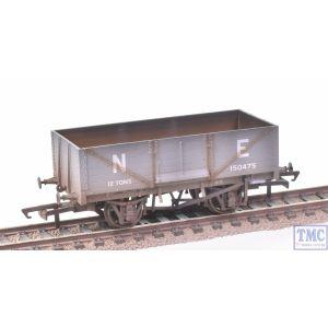 OR76MW6001C Oxford Rail OO Gauge 6 Plank Wagon LNER 150475 Weathered by TMC