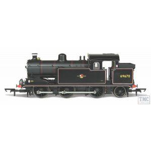 OR76N7004 Oxford Rail 1:76 Scale BR Late 0-6-2 Class N7 No.69670