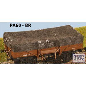 PA60 Parkside Models OO/HO Gauge Tarpaulins BR x8