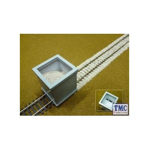 PBAL-O-03 Proses 1.4 Kg (3 lbs) Authentic Limestone Ballast O Scale (Dark Grey)
