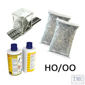 PBALKIT-02 Proses Complete Ballasting Kit HO (Ballast glue ballast spreader) Grey Blend