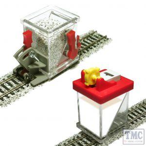 PBS-HO-03 Proses HO/OO Ballast Spreader Car and Ballast Glue Applicator Set