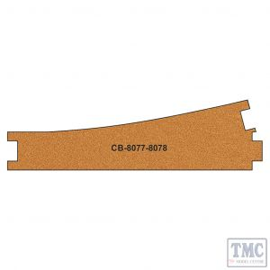 PCB-8077-8 Proses 10 X Pre-Cut Cork Bed for R8077-8078 Express Points