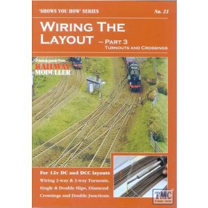 21 Peco Shows You How - Wiring the Layout - Part 3: Turnouts & Crossings NO.21