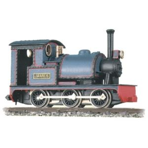 GL-2 Peco OO9 Gauge 0-6-0 or 0-4-0 Saddle Tank 'James' Kit