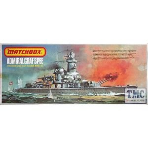 Matchbox 1:700 Scale Kit Admiral Graf Spee PK-161 (Pre owned)
