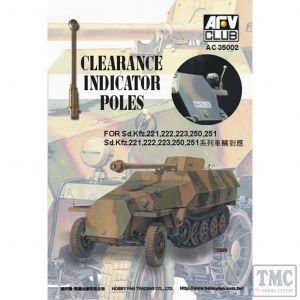PKAC35002 AFV Club 1:35 Scale Clearance Indicator Poles