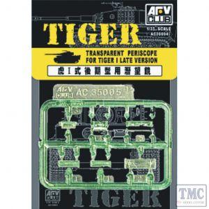 PKAC35004 AFV Club 1:35 Scale Transparent Periscopes for Tiger I Late