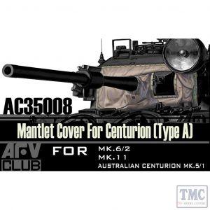 PKAC35008 AFV Club 1:35 Scale Centurion Mantlet Cover Type A (vinyl)