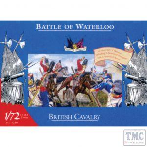 PKAC7210 Accurate Figures 1:72 Scale British Cavalry - Waterloo (ex-Airfix)