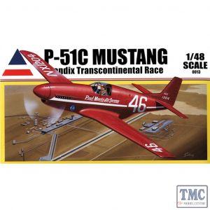 PKACC0013 Accurate Figures 1:48 Scale P-51C Mustang Bendix Racer