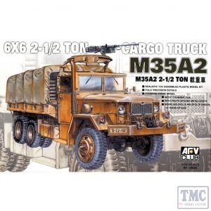 PKAF35004 AFV Club 1:35 Scale M35 A2 2.5 Ton 6x6 Cargo Truck