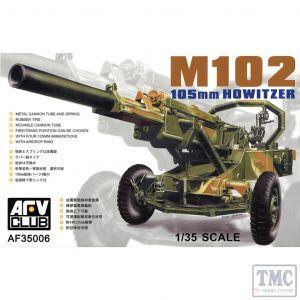 PKAF35006 AFV Club 1:35 Scale M102 105mm Howitzer