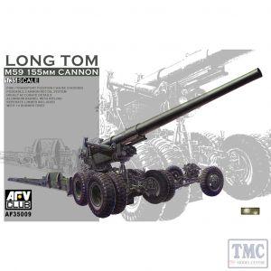 PKAF35009 AFV Club 1:35 Scale M59 155mm Long Tom Cannon