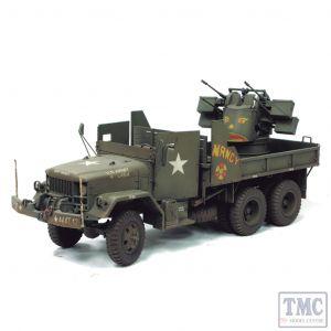 PKAF35034 AFV Club 1:35 Scale M35A1 Vietnam Gun Truck