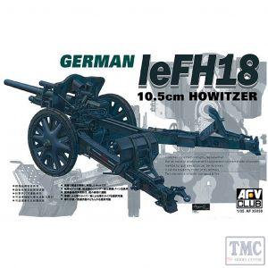 PKAF35050 AFV Club 1:35 Scale leFH18 10.5cm Howitzer