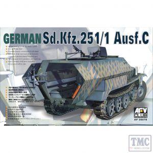 PKAF35078 AFV Club 1:35 Scale SdKfz 251/1 Ausf C 'Schutzenpanzer'
