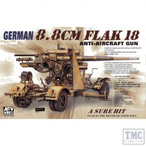PKAF35088 AFV Club 1:35 Scale FlaK18 88mm