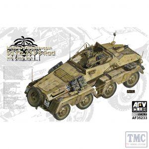 PKAF35233 AFV Club 1:35 Scale SdKfz 233 8-Rad with 7.5cm Gun