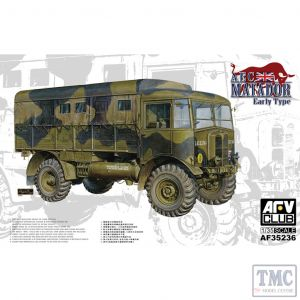PKAF35236 AFV Club 1:35 Scale AEC Matador, Early, British Expeditionary Force 1940