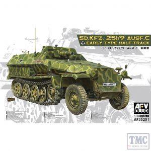 PKAF35251 AFV Club 1:35 Scale SdKfz 251/9 Ausf C Early
