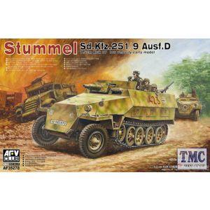 PKAF35278 AFV Club 1:35 Scale German SdKfz 251/9 Ausf D