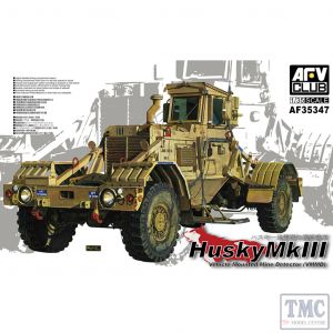 PKAF35347 AFV Club 1:35 Scale Husky Vehicle Mounted Mine Detector Mk III