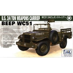 PKAF35S15 AFV Club 1:35 Scale WC51 ¾ton Weapons Carrier