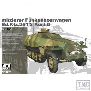 PKAF35S47 AFV Club 1:35 Scale SdKfz 251D 2-in-1