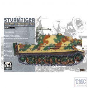 PKAF48006 AFV Club 1:48 Scale Sturmtiger