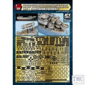 PKAG35050 AFV Club 1:350 Scale Photo-etched Conversion Kit for US Navy Type 2 LST-1 Class L